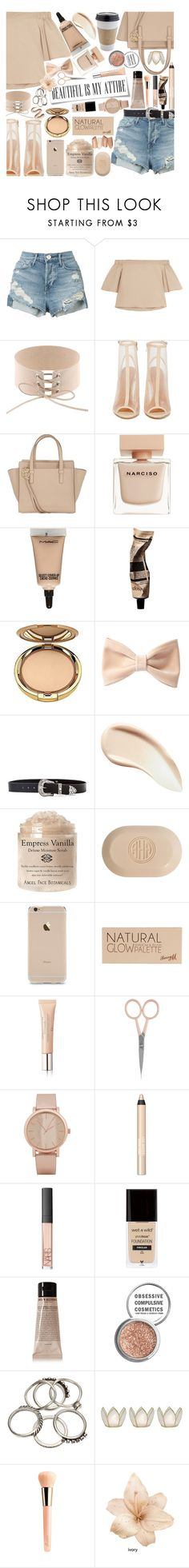 """""""Difficult roads often lead to beautiful destinations"""" by xcuteniallx ❤ liked on Polyvore featuring 3x1, TIBI, Shoe Cult, Salvatore Ferragamo, Narciso Rodriguez, MAC Cosmetics, Aesop, Milani, Forever 21 and B-Low the Belt"""