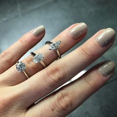 What's your flavour? Marquise, Oval or Round Brilliant Cut... Made by Hearts of London
