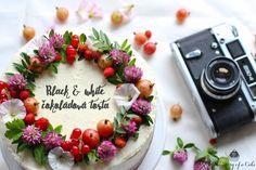 Black and white čokoládová torta (Black and white chocolate cake)
