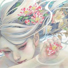 WOW stunning painting by Miho Hirano