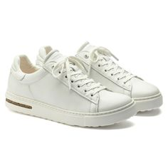 White Casual Sneakers, Birkenstock Style, Uk Fashion, Fashion Trends, Calf Muscles, Aesthetic Shoes, Natural Leather, Real Leather, Leather