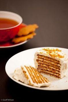 Dreaming of Winter: Gingerbread Ripple Cake Recipe