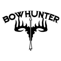 Outdoor Decals Bowhunter Skull Decal