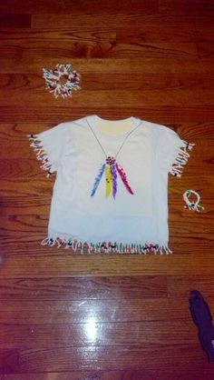 Kindergarten Native American T-shirt idea