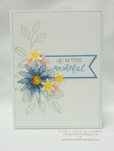 Stamp & Create With Sabrina: Grateful Bunch Sneak Peek Part 2