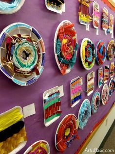 Elementary Art Weaving | Circular Weaving with 2nd graders Art is Basic