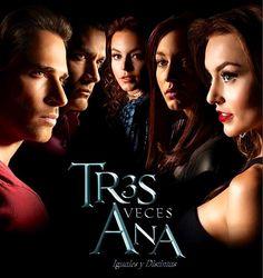Angelique Boyer, Sebastian Rulli, & David Zepeda #tresvecesana Tres Veces Ana