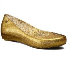 Baleríny MELISSA - Melissa Ultragirl XII Ad 31868 Gold Glitter 51800