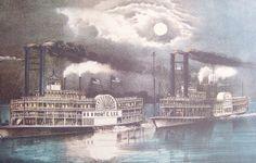 Passengers Aboard Steamboat Isaac M Mason On Monongahela