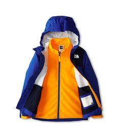 The North Face Kids Kikori Rain Triclimate® Jacket (Little Kids/Big Kids) Monster Blue - Zappos.com Free Shipping BOTH Ways