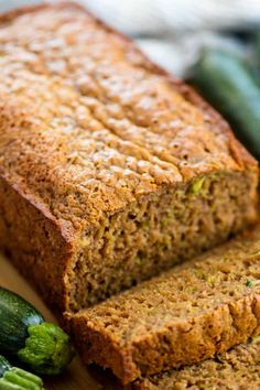 This Low Carb Keto Zucchini Bread is sweet, moist, and only has 3 net carbs per slice! If you're missing bread on your ketogenic diet, you need to try this recipe. #lowcarb #keto #diet #zucchinibread  #zucchinibread #zucchinibreadrecipe #zucchinibreadfordays #zucchinibreadday #zucchinibreadmuffins #zucchinibreadsticks #zucchinibreadrecipes #zucchinibreadcomingsoon #zucchinibreadpancakes #zucchinibreadanyone #zucchinibreads #zucchinibreadtime #zucchinibreadforeveryone #zucchinibread❤️ Dessert Cake Recipes, Dessert Ideas, Cake Ideas, Desserts, Zucchini Bread Muffins, Zucchini Bread Recipes, Home Recipes, Baking Recipes, Healthy Recipes