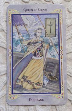 Mary Ferguson Tarot - Queen of Wands - Botok Királynője Tarot kártya - Tarot tanfolyam indul 2018 őszén, részletek a blogon