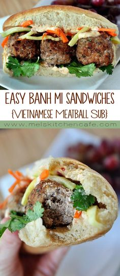 All I can say about these easy banh mi sandwiches is: Best.Sandwich.Ever.