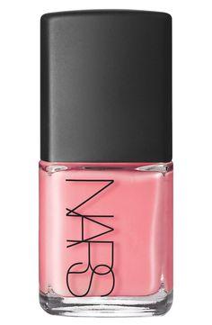 Pastel pink nail polish for spring!