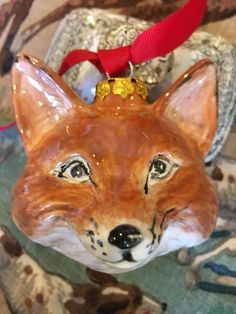 A personal favorite from my Etsy shop https://www.etsy.com/listing/562940084/presale-hand-painted-bisque-fox