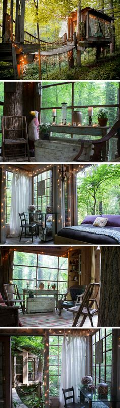 "The ""Most Wished For"" listing on Airbnb last year was this secluded treehouse in the heart of Atlanta!"