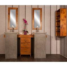 Salle de bain en teck Parthenon duo