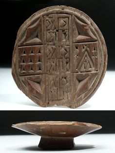 Greek Orthodox Wood Bread Stamp - May 2019 Ancient Art, Ancient Egypt, Mohenjo Daro, Deer Hide, Five Pointed Star, Plains Indians, Eucharist, Red Interiors, New Testament