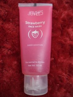 Jovees Strawberry Face Wash Sheer Moisture Nornal to Dry Skin- 120 ml #Jovees