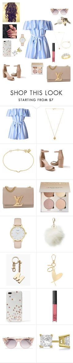 """#BDAY🌹💭🤘🏽"" by prxncessm ❤ liked on Polyvore featuring WithChic, Vanessa Mooney, Maya Magal, Venus, Louis Vuitton, Kate Spade, Avon, Charlotte Russe, Talbots and Victoria's Secret"