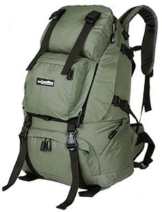 Insun Green Outdoor Trekking Hiking Backpack ** Find out more about the great product at the image link.(This is an Amazon affiliate link and I receive a commission for the sales)