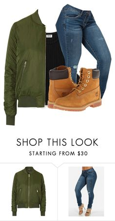 """My b-day outfit"" by princessjay003 ❤ liked on Polyvore featuring Topshop and Timberland"