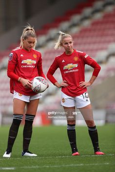News Photo : Alessia Russo of Manchester United Women and... Football Girls, Girls Soccer, Women's Football, Manchester United Poster, Manchester United Football, Female Soccer Players, Kobe Bryant Pictures, Milan, Soccer Pictures