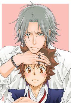 TYL!Gokudera Hayato & Sawada Tsuna #khr 5927