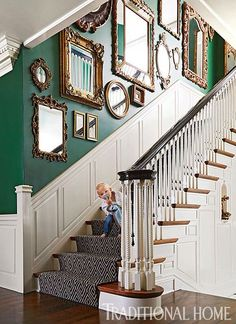 In LOVE with this green color!