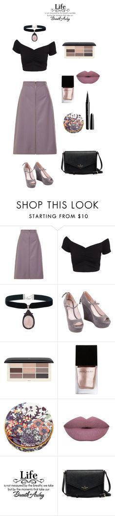 """dark"" by brindusoiu-georgiana on Polyvore featuring Tome, NLY Trend, Rock 'N Rose, Miu Miu, H&M, Witchery, Paul & Joe Beaute and Marc Jacobs"