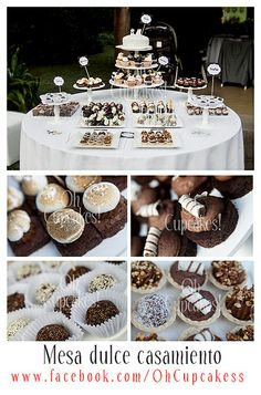 Mesa dulce casamiento by Oh Cupcakes!, via Flickr