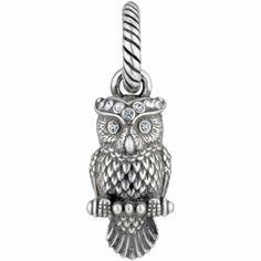 ABC Wisdom Owl Charm  available at #Brighton $15.00