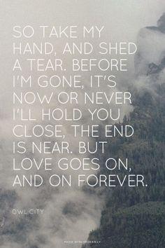 I Found Love ~ Owl City <3