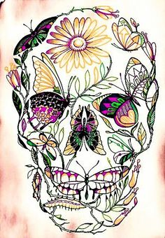 This is a gorgeous design. It would look amazing as a big back piece or an upper thigh/hip piece. Way cool.