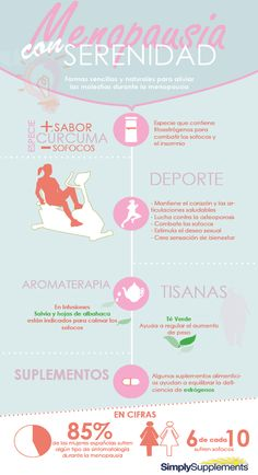 Cómo aliviar los sofocos de la #menopausia naturalmente