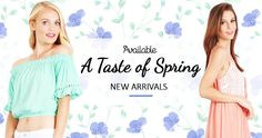 The Spring edition at women's young contemporary vendor, Available. http://www.fashiongo.net/available #fashion #wholesale
