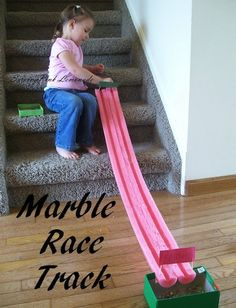 Marble race track william
