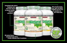 #ALLMAX #IsoNatural > Here at ALLMAX Nutrition we listen. We hear you when you ask for effective products that fit YOUR specific needs. There are those out there who wish to use a very high quality whey isolate protein, but WITHOUT any artificial flavors, dyes or coloring! Well, here you go...IsoNatural – A 100% Pure Whey Protein Isolate!