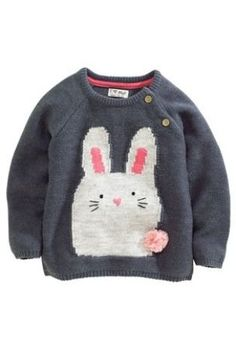 Buy Grey Bunny Jumper (3mths-6yrs) from the Next UK online shop