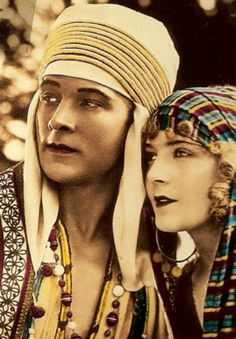 Rudolph Valentino and Vilma Banky - 1926 - 'Son of the Sheik' - @Mlle