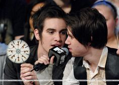 ryan ross brendon urie gif | brendon urie and ryan ross photo brendonurielovel's photos - Buzznet