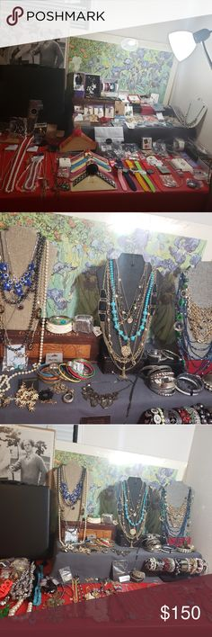 Modern Jewelry Retail $150 plus lots of lbs of it! All Wearable