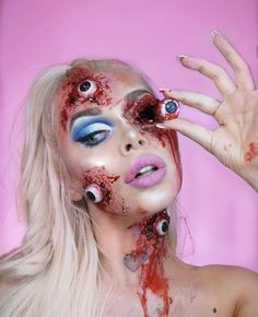 Instagram: @jennifermoona Halloween Make Up, Halloween Face Makeup, Special Effects, How To Make, Instagram, Visual Effects