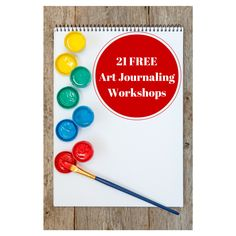 An all-new list of 21 free art journaling and related workshops to stretch your creativity, teach you new things and enjoy creating.