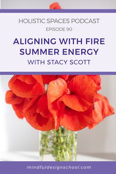 In this episode, we're excited to welcome Mindful Design Feng Shui School graduate Stacy Scott, founder of Sanctuary Feng Shui. We talked to Stacy about aligning with summer's fire energy, and working with the fame & recognition area of the feng shui bagua map. #summer #fireenergy Summer Energy, School Design, Feng Shui, Mindfulness, Fire, Map, Teaching, Cards, Maps