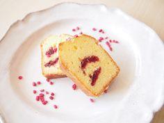 Rose pound cake  Cake à la rose