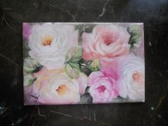 Roses forever | ARTchat - Porcelain Art Plus (formerly Chatty Teachers & Artists)