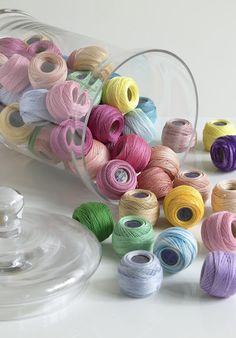 The promise these threads hold make them such a pleasure to look at !