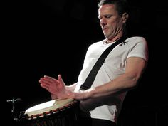U2 - Larry Mullen Jnr. by SiriS_ZA, via Flickr