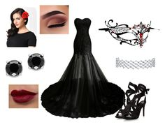 """""""The Girl Who Needs To Hide"""" by ceelsasser ❤ liked on Polyvore featuring Masquerade and Effy Jewelry"""
